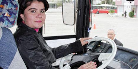 Kadın şoförler yollara çıktı