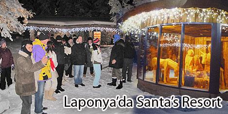 Laponya'da Noel Baba turizmi3