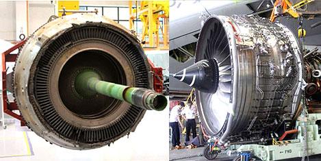 A380 motorunda yağ yanığı