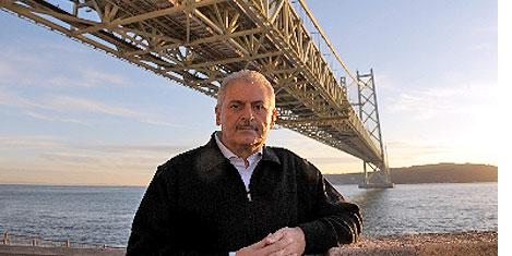 Bakan Yıldırım en uzun köprüde
