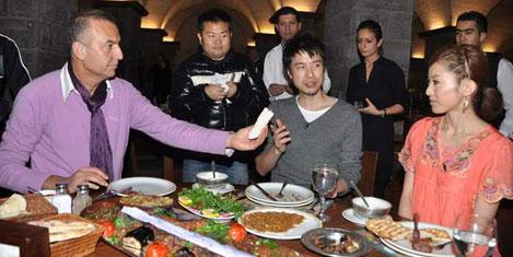 Gaziantep mutfağı Japon TV'sinde
