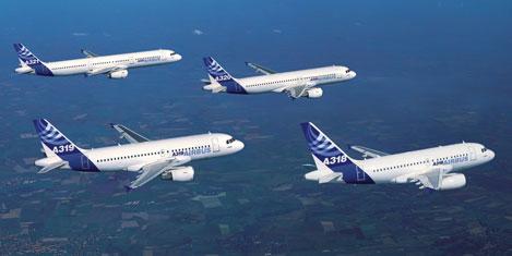 Airbus'tan Ar-Ge'ye 2 milyar Euro