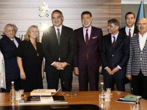 TTYD YönetimiBakan Mehmet Ersoy'aisteklerini bildirdi