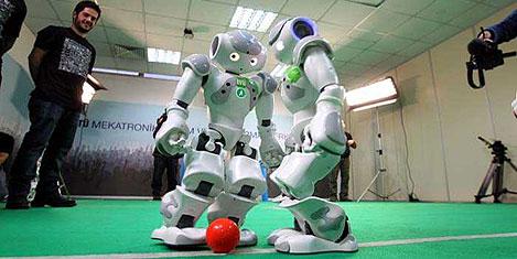 İlk robot maratonu başladı