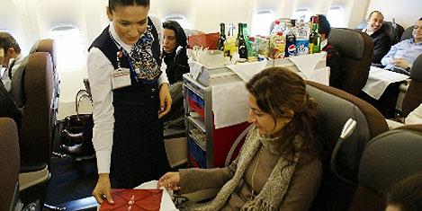 THY'den şanslı yolculara bilet
