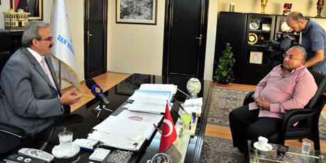 El-Cezire Televizyonu Van'ı tanıttı
