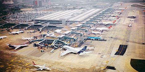 Yolcu ve uçak sayısı artıyor