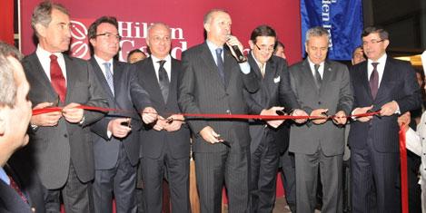Erdoğan Konya Hilton'u açtı