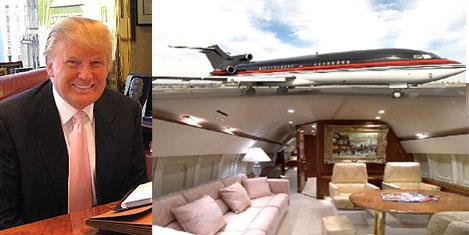 Trump'ın uçağı Türkiye'de satılıyor