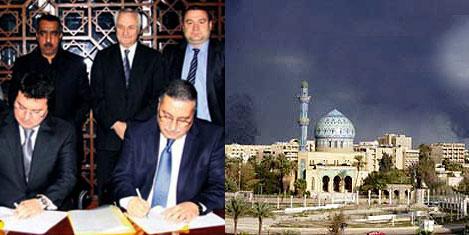 Bağdat'ın yolu GAP İnşaatta
