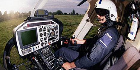 Polis, helikopter pilotu yetiştirecek