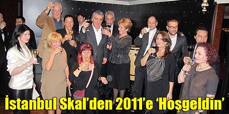 İstanbul Skal yeni yılı kutladı