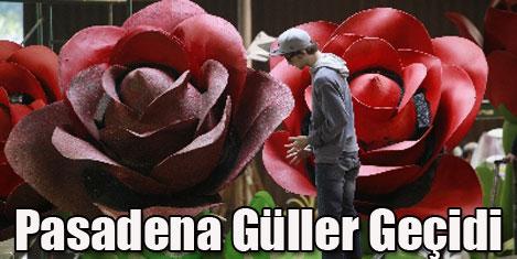 Pasadena'da güller geçidi