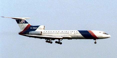 Yolcu uçağı patladı; 3 ölü
