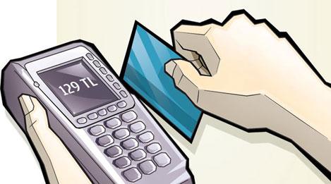 Kredi kartları 167 milyara geriledi