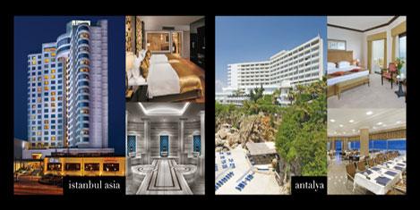 Divan Asia ve Antalya en iyi iş oteli