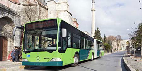İETT otobüsleri Mercedes'ten