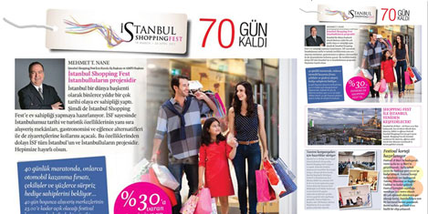 İstanbul Shopping Fest Mart'ta