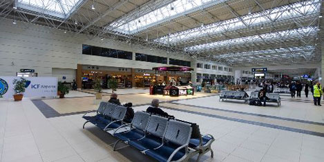 Antalya Havalimanı'na hangar