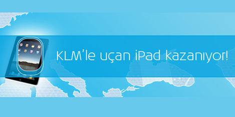 KLM ile uçan iPad kazanıyor