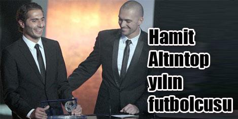 Fıfa 2010 ödülü Hamit Altıntop'un