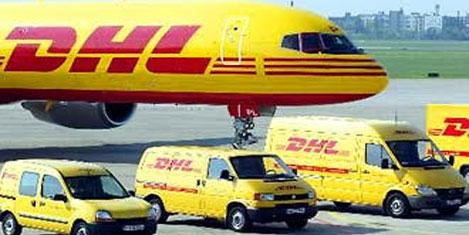DHL'de kargo helikopteri