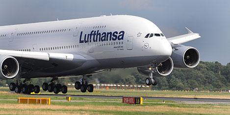 Lufthansa 90.2 milyon yolcu taşıdı