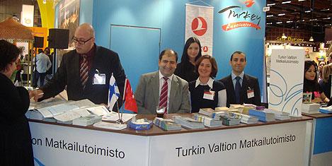 Türkiye Matka Turizm Fuarı'nda
