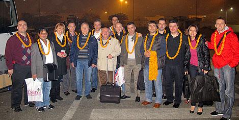 Türk turizmciler Hindistan'da-1
