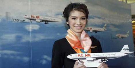 PC Air'de kadın hostes yok