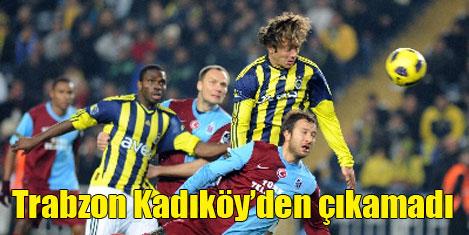 F.Bahçe Trabzonspor'u 2-0 yendi