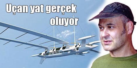 Uçak tasarımcısının uçan yatı!