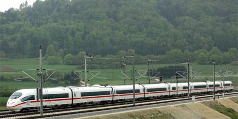 Hızlı tren sizin olsun, ağaç bizim