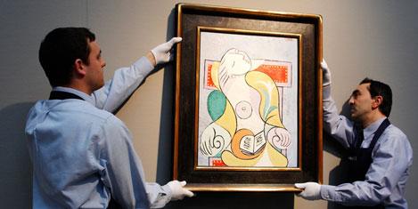 Picasso'ya 40 milyon dolar