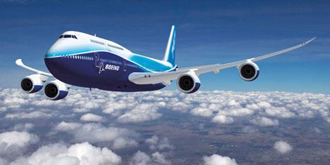 Boeing ticari uçaklarda başarılı