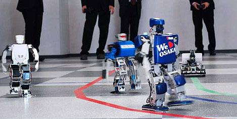 Dünyanın ilk robot maratonu