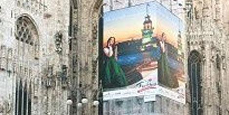 Milano'nun kalbindeki 'Kız Kulesi'