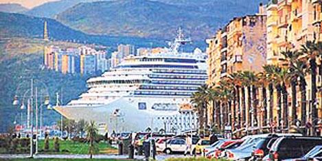 İzmir'e özel kruvaziyer rıhtımı