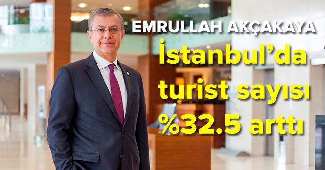 İstanbul'a gelen turist sayısı son 5 yılın rekorunu kırdı