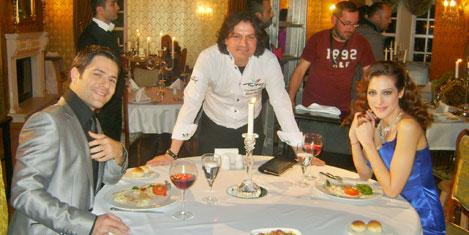 İzmir Çetesi'nde aşçıbaşı rol aldı