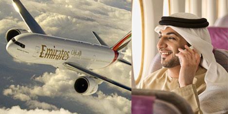 Emirates'de 5 milyon kişi cepte