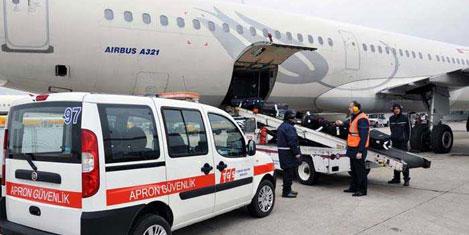 Uçak kamyon kazalarına karşı TGS