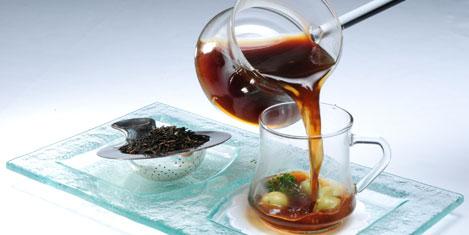 Pera Palace'da çay keyfi