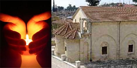 Dilek Mumları Tarsus'ta yakıldı
