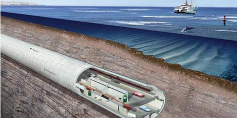 Avrasya Tüneli'nin güzergâhları
