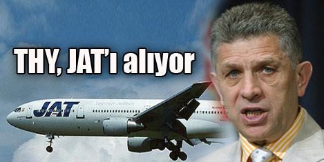 THY, Sırp Havayolları JAT'ı alıyor