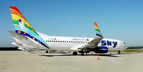 Sky Airlines  Kayseri'ye uçuyor