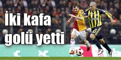 Fenerbahçe Galatasaray'ı 2-1 yendi