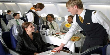 Lufthansa çalışanları grevde