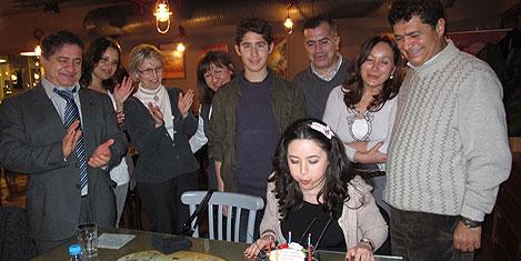 ÖZBİ'den Mordeniz'in mutlu günü
